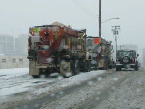Arlington County Salt Trucks