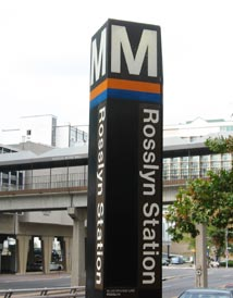 Rosslyn Metro Station