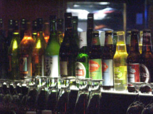 Selection of beer and wine (file photo)