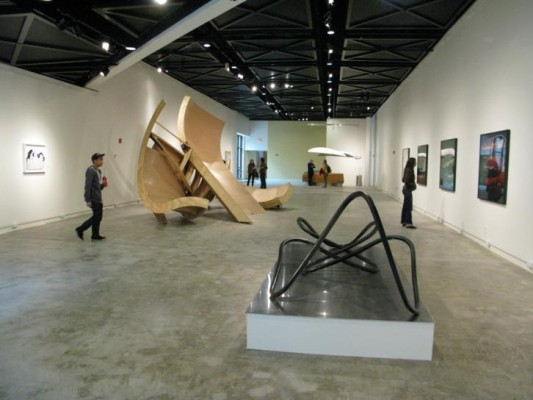 Photo taken during the Artisphere press preview 10/6/10