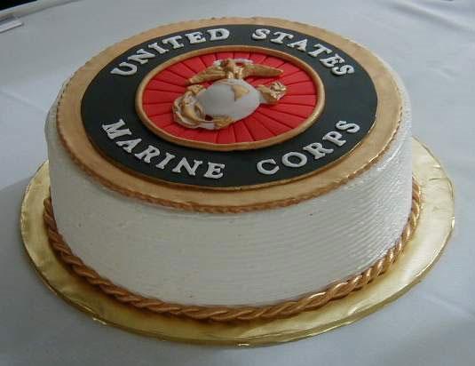 Marine Corps Birthday Cake Pics