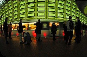 Rosslyn Metro by Chris Rief