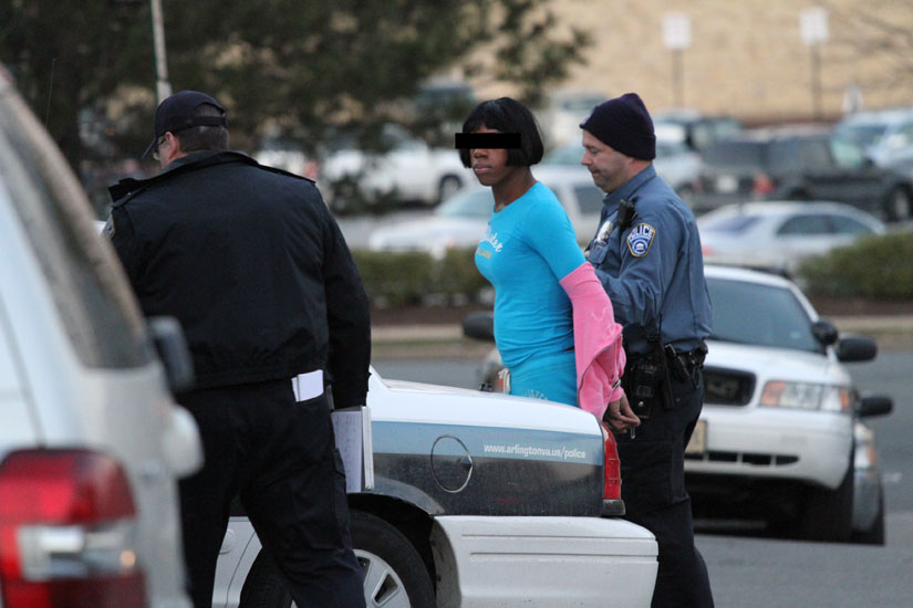 Cops Nab Cross-Dressing Shoplifting Suspect | ARLnow.com