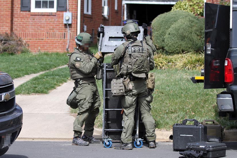 fbi swat team trains in waverly hills | arlnow, Cephalic Vein