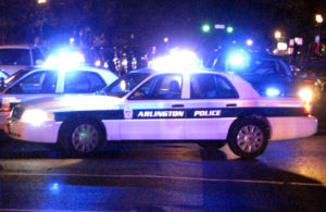 Police car (file photo)