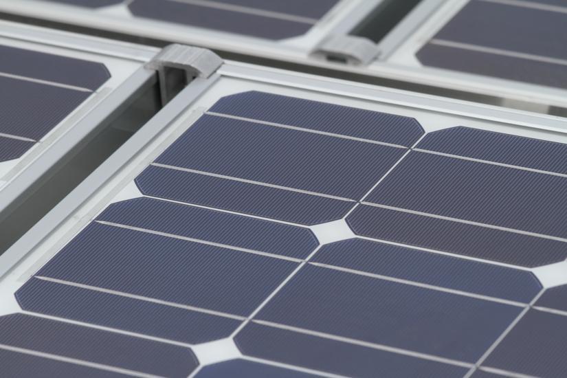 Solar Panel Installation At Arlington Central Library