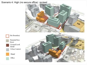 "PenPlace ""high density"" plan"