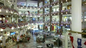 The Pentagon City mall food court