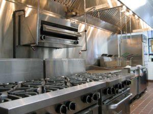 New kitchen equipment