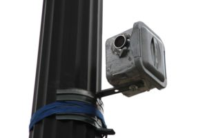 Video camera mounted at the intersection of Columbia Pike and S. Courthouse Road