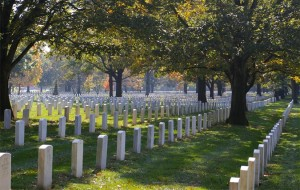 Arlington National Cemetery by Schlickw