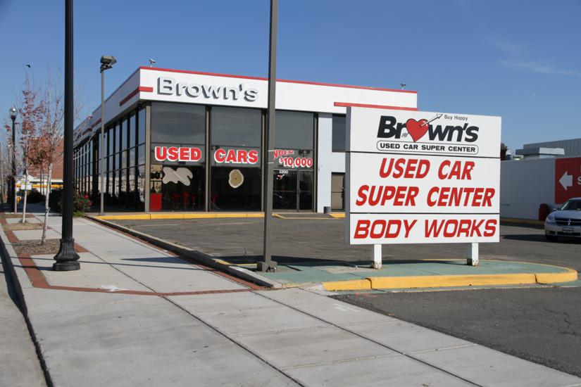 brown 39 s used car center closes on the pike. Black Bedroom Furniture Sets. Home Design Ideas