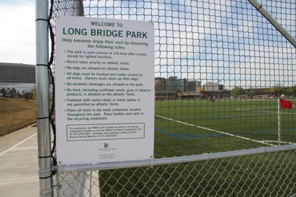 Long Bridge Park in 2011