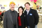 County Board Chair Chris Zimmerman, County Board member and state Senate candidate Barbara Favola, House of Delegates candidate Alfonso Lopez