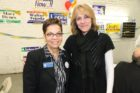 Arlington County Commissioner of the Revenue Ingrid Morroy and Commonwealth's Attorney candidate Theo Stamos