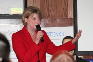 State Sen. Janet Howell at Arlington Democrats 2011 election victory party