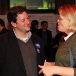 Delegate-elect Alfonso Lopez at Arlington Democrats 2011 election victory party