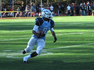 Yorktown High School running back M.J. Stewart (photo by Dan Friedell)