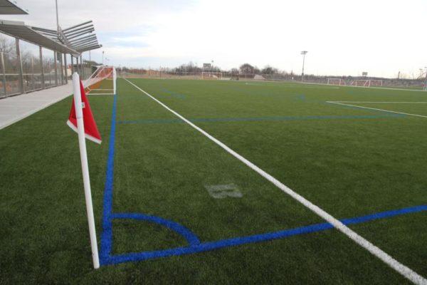 Athletic field at Long Bridge Park