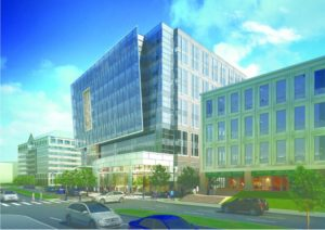 Rendering of Virginia Square development at 3901 Fairfax Dr.