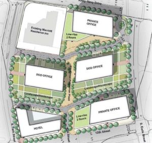 Proposed PenPlace development in Pentagon City