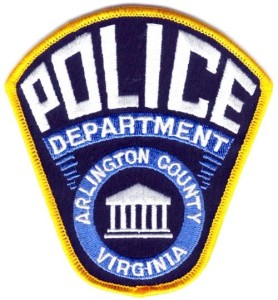 Arlington County Police Department badge