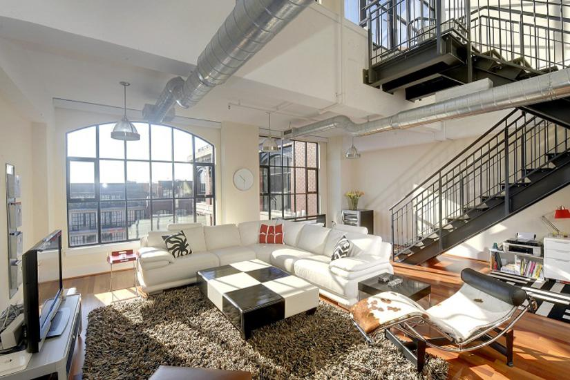 Loft Style Condo Decoration Manhattan On The Potomac