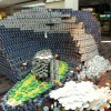 Canstruction competition at Ballston Mall