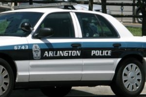 Arlington County police car