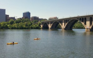 Sunny Sunday in Rosslyn (photo by Katie Pyzyk)