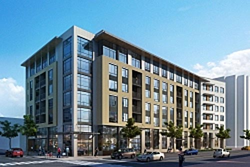 new ballston area apartment building approved