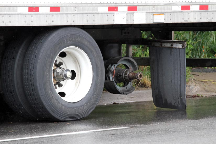 Tractor Trailer Wheels Pictures