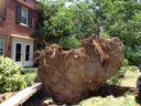 Storm damage on the 1200 block of S. Barton St