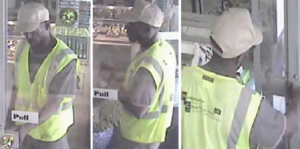 Surveillance photos of homicide suspect at Capital Jewelers