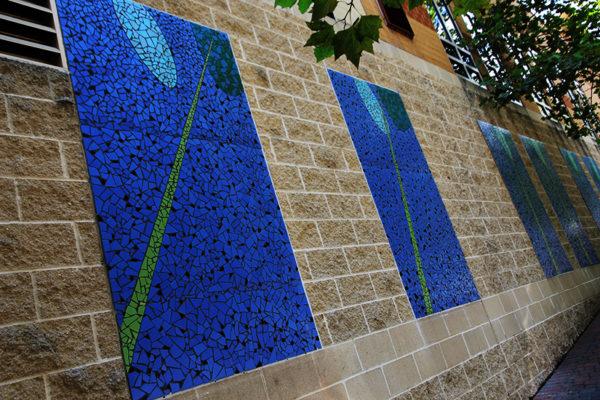 Wall art in Rosslyn