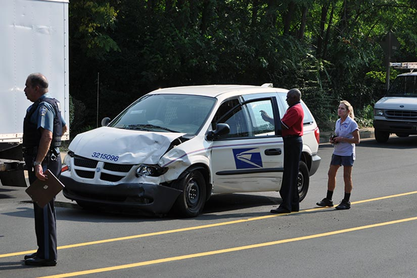 Just Brakes Coupons >> Postal Vehicle Involved in Ballston Wreck   ARLnow.com
