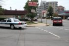 Police are investigating a stabbing outside the Pio Pio restaurant near Clarendon