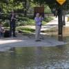 Water main break in Crystal City