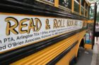 "Abingdon Elementary's ""Read & Roll Book Bus"""