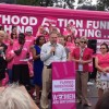 Planned Parenthood rally with Tim Kaine in Virginia Highlands Park (photo courtesy Kaine for Virginia)