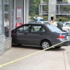 A car plowed into the CVS Pharmacy at 5017 Columbia Pike
