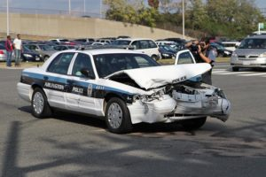Crash involving an ACPD cruiser in Pentagon City