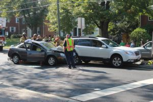 Accident with extrication closes Washington Blvd in Westover