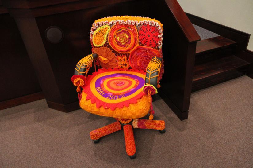 County Board Chair Gets \'Yarn Bombed\' | ARLnow.com