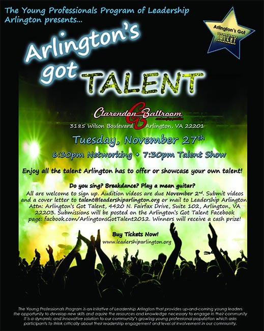 Audition Tapes Sought For ArlingtonS Got Talent  ArlnowCom