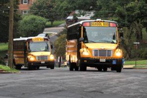 Arlington County school buses
