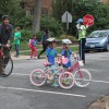 Walk and Bike to School Day 2012 at Oakridge Elementary School