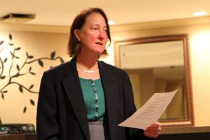 Audrey Clement at Radnor/Fort Myer Heights candidates night debate