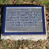 Local historical marker created by artist Timothy Thompson