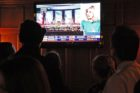 Republicans watch election returns at RiRa Irish Pub in Clarendon